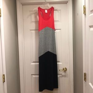 NWT Racer back Maxi dress.